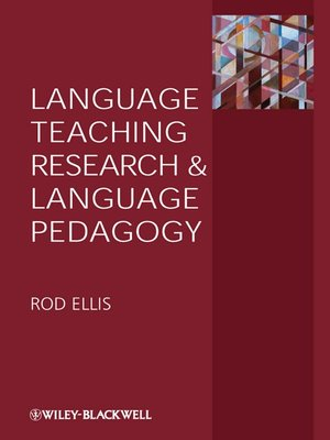 cover image of Language Teaching Research and Language Pedagogy