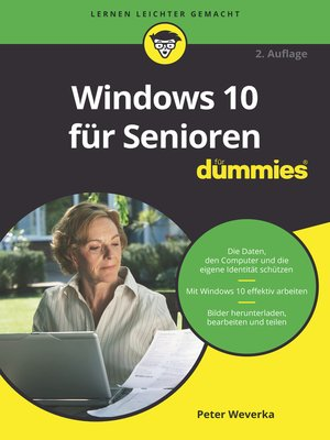 cover image of Windows 10 für Senioren für Dummies