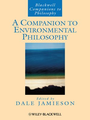 cover image of A Companion to Environmental Philosophy