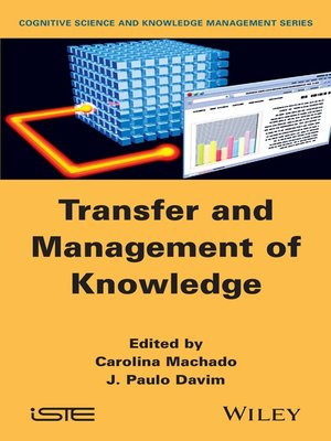 cover image of Transfer and Management of Knowledge