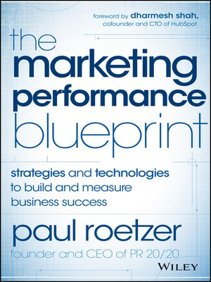 cover image of The Marketing Performance Blueprint