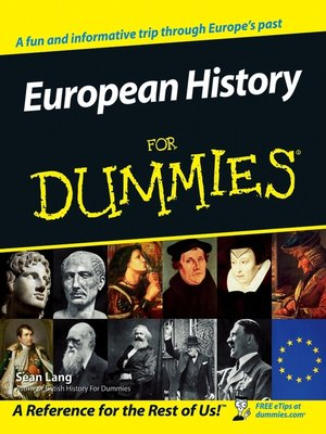 cover image of European History for Dummies