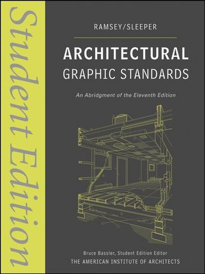 cover image of Architectural Graphic Standards