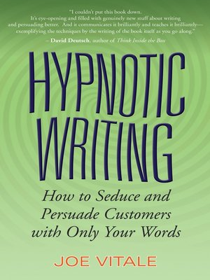 cover image of Hypnotic Writing