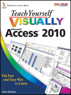 cover image of Teach Yourself VISUALLY Access 2010
