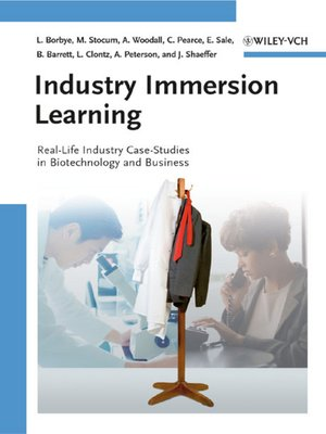 cover image of Industry Immersion Learning