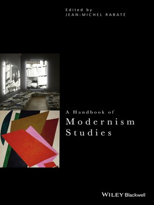 cover image of A Handbook of Modernism Studies