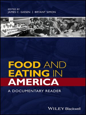 cover image of Food and Eating in America
