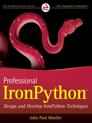 cover image of Professional IronPython