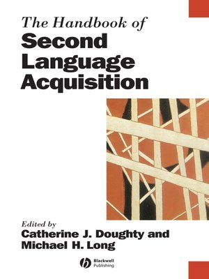 cover image of The Handbook of Second Language Acquisition