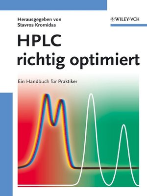 cover image of HPLC richtig optimiert