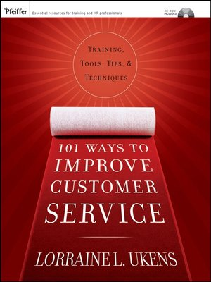 cover image of 101 Ways to Improve Customer Service