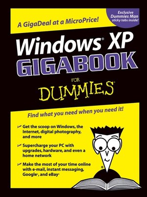 cover image of Windows XP Gigabook For Dummies