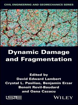 cover image of Dynamic Damage and Fragmentation