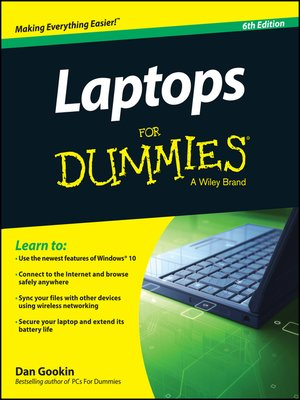 cover image of Laptops For Dummies