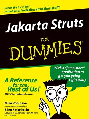 cover image of Jakarta Struts For Dummies