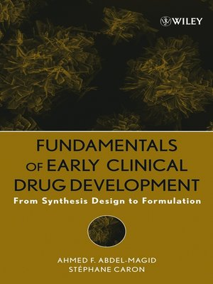 cover image of Fundamentals of Early Clinical Drug Development