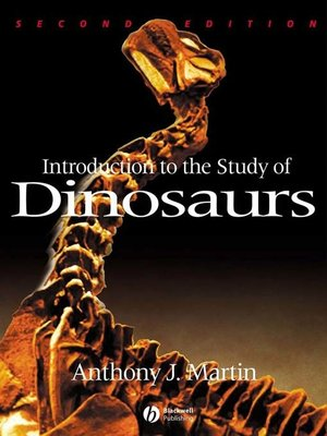 cover image of Introduction to the Study of Dinosaurs
