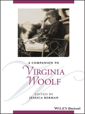 cover image of A Companion to Virginia Woolf