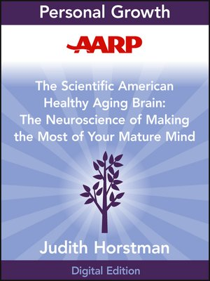 cover image of AARP the Scientific American Healthy Aging Brain