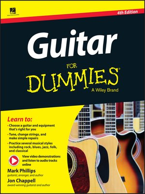 guitar for dummies by mark phillips overdrive rakuten overdrive ebooks audiobooks and. Black Bedroom Furniture Sets. Home Design Ideas