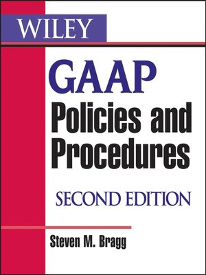 cover image of Wiley GAAP Policies and Procedures