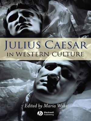 cover image of Julius Caesar in Western Culture