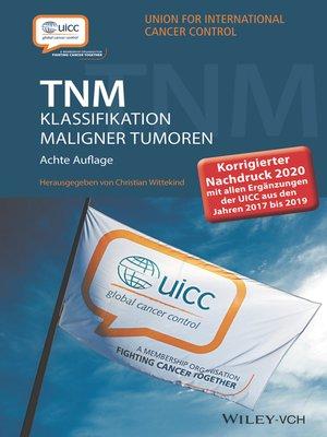 cover image of TNM Klassifikation maligner Tumoren