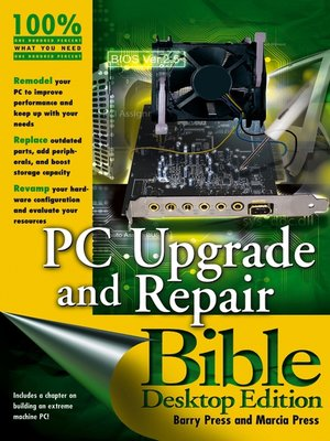 cover image of PC Upgrade and Repair Bible