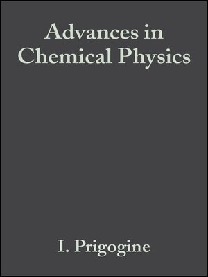 cover image of Advances in Chemical Physics