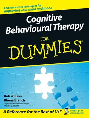 cover image of Cognitive Behavioural Therapy for Dummies