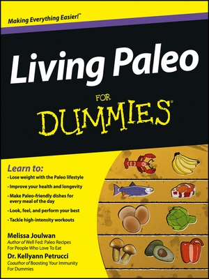 cover image of Living Paleo For Dummies