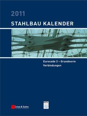 cover image of Stahlbau-Kalender 2011