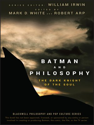cover image of Batman and Philosophy