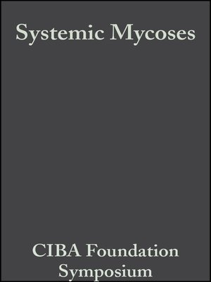 cover image of Systemic Mycoses