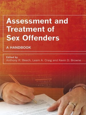 cover image of Assessment and Treatment of Sex Offenders