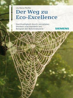 cover image of Der Weg zu Eco-Excellence