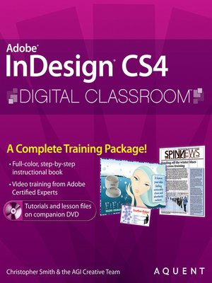 cover image of InDesign CS4 Digital Classroom
