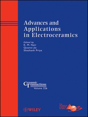 cover image of Advances and Applications in Electroceramics