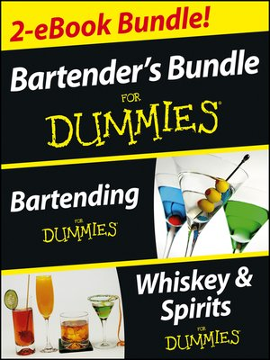 cover image of Bartender's Bundle For Dummies Two eBook Bundle