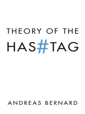 cover image of Theory of the Hashtag