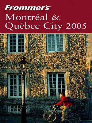cover image of Frommer's Montreal & Quebec City 2005