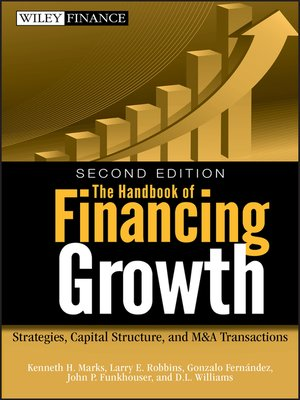 cover image of The Handbook of Financing Growth