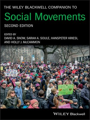 cover image of The Wiley Blackwell Companion to Social Movements