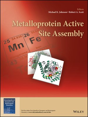 cover image of Metalloprotein Active Site Assembly