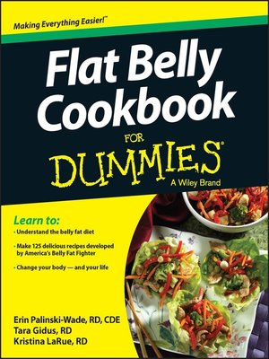 cover image of Flat Belly Cookbook For Dummies