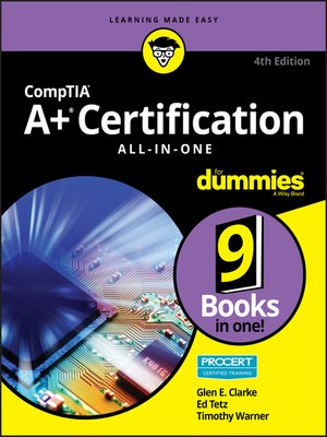 cover image of CompTIA A+ Certification All-in-One For Dummies