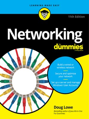 cover image of Networking for Dummies