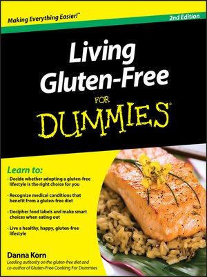 cover image of Living Gluten-Free For Dummies