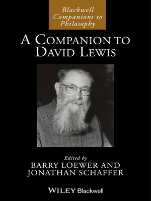 cover image of A Companion to David Lewis